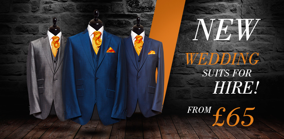 Groom Wedding Suit Hire, Huddersfield & Leeds - Owen Scott - Owen Scott
