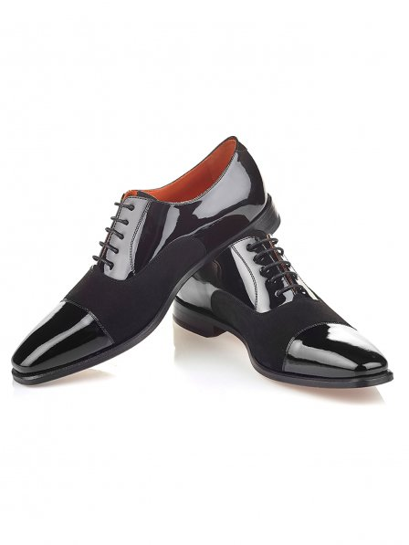 Owen Scott Black Patent Dress Shoe