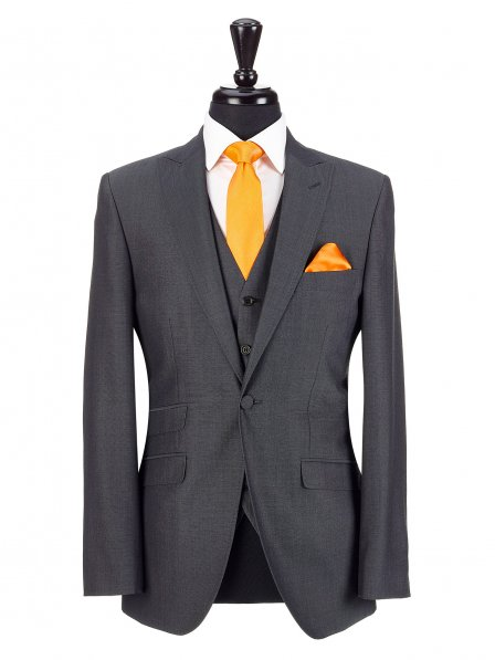 Charcoal Suit - From